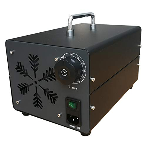 Profesional Generador de ozono PRO 40g/h 220V Industrial Asesino de olores con Temporizador para Habitaciones Purificador de Aire Integrado Autos Mascotas hoteles Generador portátil del Ozono