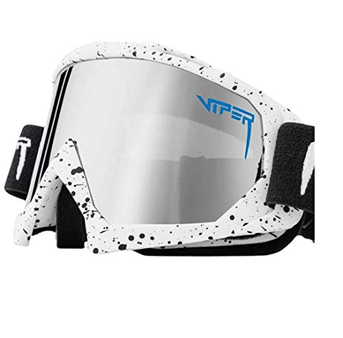 Gafas De Sol Pit Viper, Doble Ancho Polarizado, Espejo Azul, Lente Tr90, Protección Uv400, Gafas De Sol Deportivas Para Ciclismo Vs05