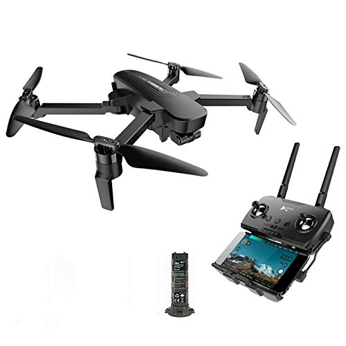 HUBSAN 4K Camera Drone Zino Pro GPS FPV Foldable Drone with 3-axis Gimbal Sphere Panoramas 4KM 23mins Brushless RC Quadcopter Great for Adult
