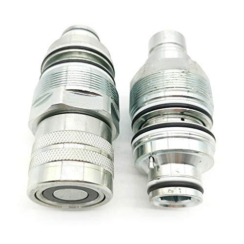 Hydraulic Coupler Set V0511-77140 V0511-77150 For Kubota SVL75 SVL75-2 SVL90/C