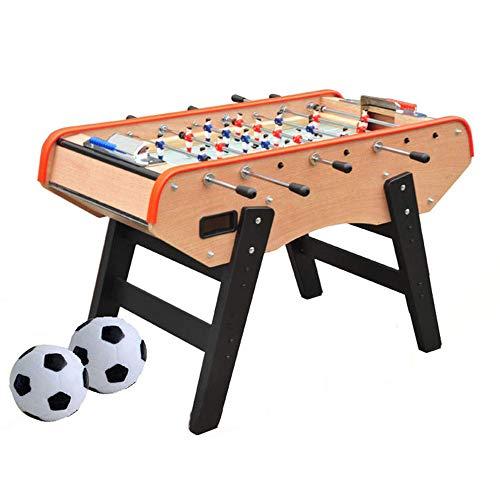 YQSHYP - Futbolín clásico con 2 Unidades de puntuación, 2 mesas de fútbol para Adultos y niños, 140 x 75 x 82 cm