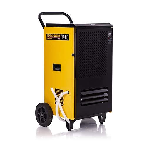 Deshumidificador de aire profesional 80L/24h, 840M3/H, op-80