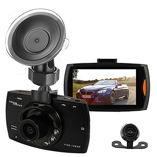 Hawkeye Full HD Duale Front- und Heck-Dashcam mit Kollisions-G-Sensor