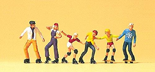 Preiser H0 10074 Rollerskate und Skateboard