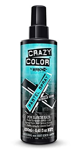 Crazy Color Gekleurde haarspray Bubble Gum Blauw