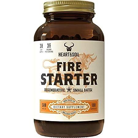 Health Shopping Heart & Soil Firestarter Supplement — High Stearic Acid Grass Fed Tallow from