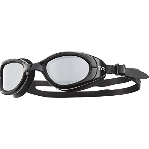 TYR Special Ops 2.0 Polarized Swimming Goggle, Black