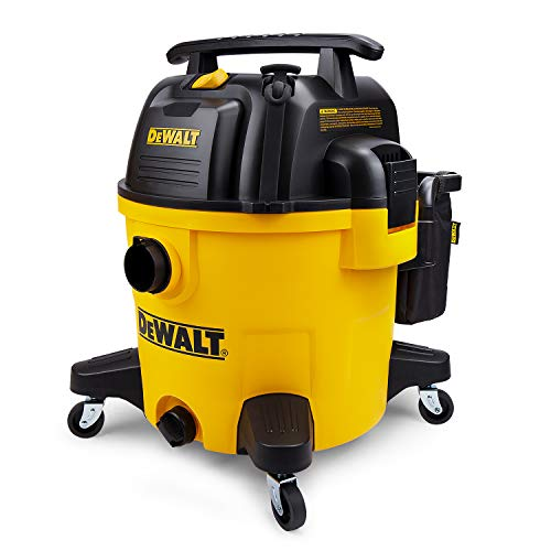 DeWALT DXV10P 10 gallon Quiet Poly Wet Dry Vacuum Yellow