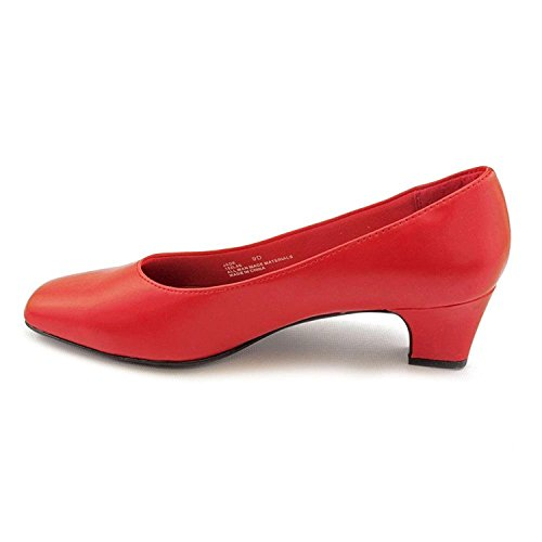 LifeStride Womens Jade Closed Toe Classic Pumps, Red, Size 6.0