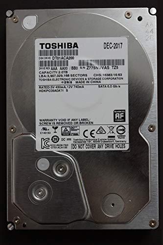 Toshiba DT01ACA200 - HDD 2TB SATA 6.0 GB/S 3.5IN - 2TB 3.5