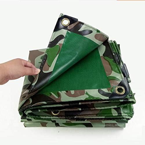 LEGOUGOU Regenschutztuch Sonnencreme Staubdicht Und KorrosionsBeste ig Camouflage-Plane 450g Pro Quadratmeter Fronttarnung, Reverse Army Grün