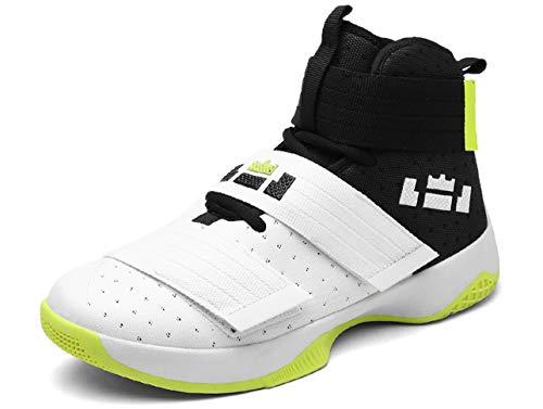 GJRRX Basketballschuhe Herren Sportschuhe Damen Hohe Sneakers Turnschuhe Atmungsaktiv rutschfest Outdoor Laufschuhe