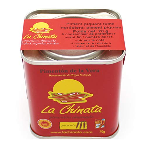 Smoked Paprika (hot) 70g D.O.P. La Chinata - Pimenton THE