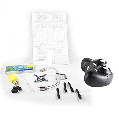 Paper Frame Drone | Quadcopter Kit | Build Your Own Mini Origami Quadcopter with Our Drone DIY Kit | Perfect for STEM Curriculum