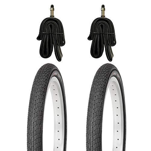 Kujo 2X 18 Zoll Reifen inkl. Schläuche mit Dunlopventilen