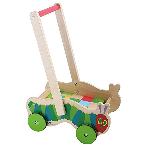 Small Foot Design 10065 The Very Hungry Caterpillar Lauflernwagen