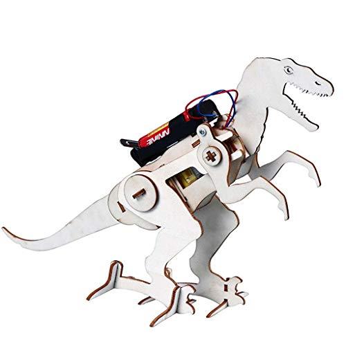 Lamdoo Biped de Madera Que Camina Modelo de tiranosaurio eléctrico DIY Juego...