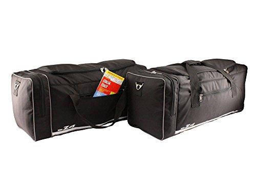 Zwei Reisetaschen Kofferraum Taschen Maßtaschen Roadster Gepäckraumtaschen Kofferraumtaschen für BMW Z4 E89 E 89 Z 4