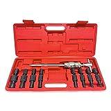GOGOLO Juego de herramientas para extractor de cojinetes internos de agujero ciego, 9 piezas, 8 – 32 mm