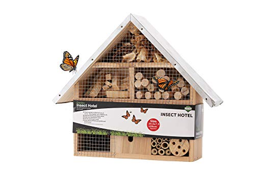 ADEPTNA Wooden Garden Insect Hot...