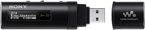 Sony NWZ-B183F/BCE Media Player, Black