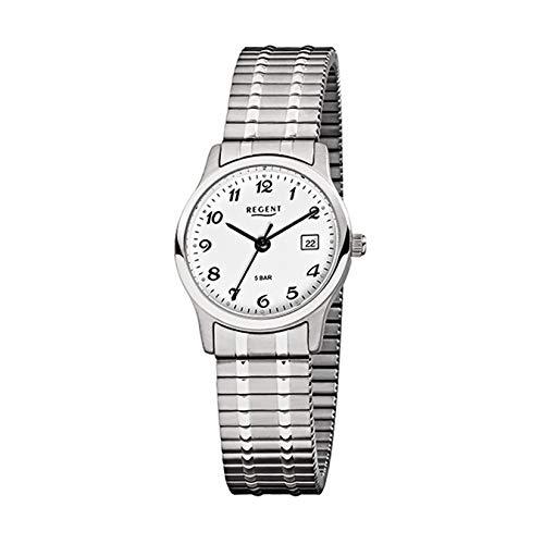 Regent Reloj de pulsera para mujer 7977.44.99 de acero inoxidable con cordón F885