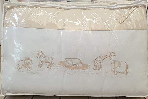 pali coordonné textile zoo beige blanc