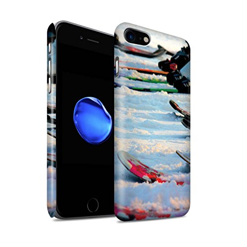 Stuff4 Telefoonhoesje/Cover/Skin/IP-3DSWM / Skieën/Snowboarden Collectie Apple iPhone SE 2020 Wintersport