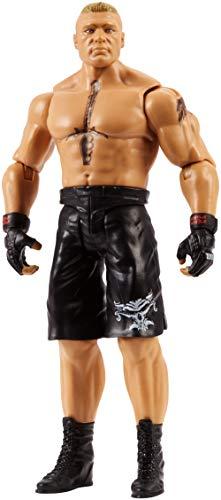 Mattel FMD51 WWE Brock Lesnar 15 cm Basis Figur, Spielzeug Actionfiguren ab 6 Jahren