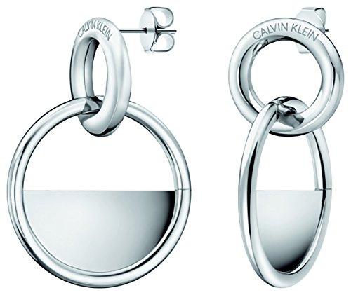 Calvin Klein Damen-Hängeohrringe Edelstahl KJ8GME000100