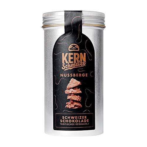 KERNschmelze Nussberge |Schweizer Alpenmilchschokolade mit knusprigem Müsli | 150g