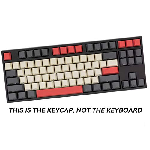Sunzit Keycaps, 87 Tecla PBT Keycap Teclado Mecánico