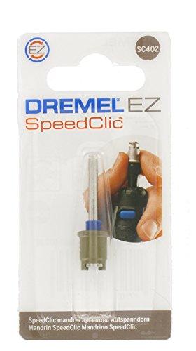 Dremel SC402 EZ SpeedClic Aufspanndorn - Zubehörsatz für Multifunktionswerkzeug mit 4 Dremel Aufspanndornen zur Verwendung bestimmter Zubehörteile wie Polierfilze oder Trenn- und Schleifscheiben
