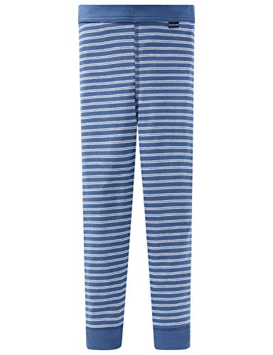 Schiesser Jungen Unterhose Lang Slip, Blau (Blau-800), 116