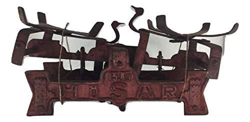 Balanza antigua antigua antigua vintage de hierro fundido, decoración taberna, tienda rústica