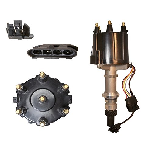 New Distributor For 1982-1993 GM V6 2.8 & 3.1 Carb & TBI Chevy Jeep GMC Pontiac Buick, Replaces 1103569, 1103570, 1103643, 1103644, 1103864, 1110583 1986 Jeep Wagoneer Distributor