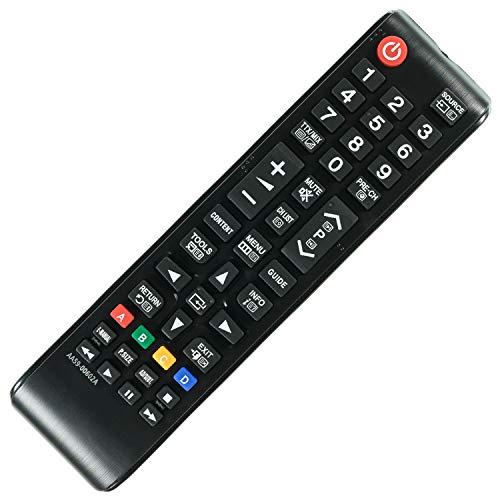 Ersatz Fernbedienung Samsung LED LCD 3D UE65JU7000 / UE65JU7090 Remote Control - afstandsbediening, télécommande, Kumanda, Plug & Play