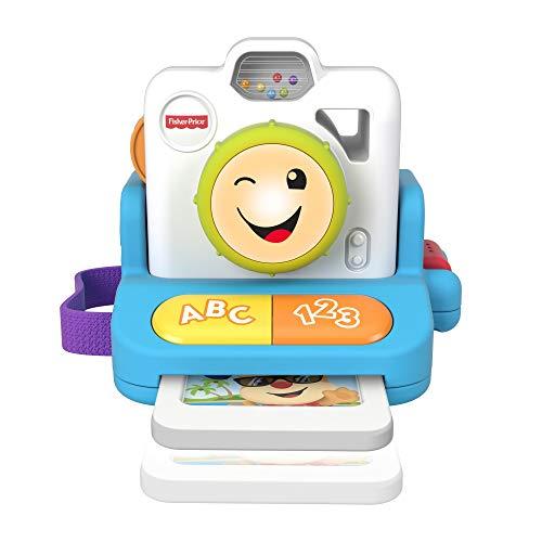 Fisher-Price - Instantánea Haz Clic y Aprende, Juguete con Música y Luz para Niños + 6 Meses (Mattel GMX37)