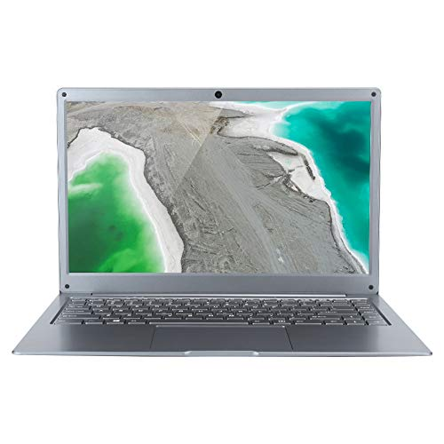 EZbook S5 Laptop HD de 14 Pulgadas, 1920 × 1080 FHD 2.4G + 5G Wi-Fi de Doble Banda 6GB LPDDR4 64GB Almacenamiento Computadora portátil inalámbrica Bluetooth 4.2 incorporada con CC, USB(EU)