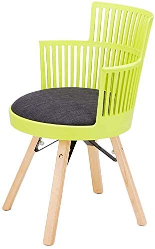 GZDD Dining Chair Dining Chair, Simple Desk Chair, Creative Backrest, Leisure Chair, Home Adult Dining Chair (Color : Green)
