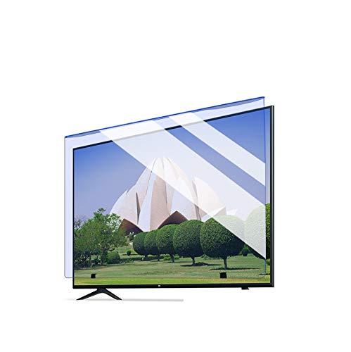 "Película protectora anti luz azul para pantalla de TV de 40-43 pulgadas Película de filtro antideslumbrante antirrayas para monitor de TV Aliviar la fatiga ocular,Prevenir la miopía,40 ""886 *498"