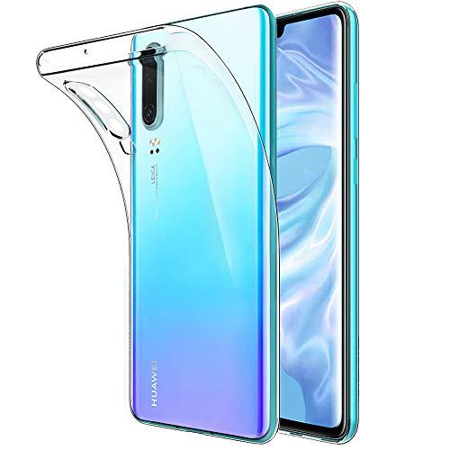 Beetop HMBS038HW568 Kompatibel Mit Huawei P30 Hülle Schutzhülle Ultradünn Handyhülle Transparent Weiche Silikon TPU Case Cover - Durchsichtig