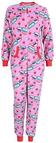 Pijama Rosa de una Pieza Colegas S