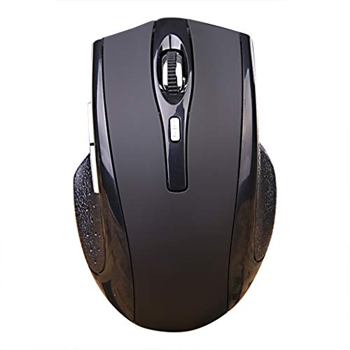Winner666 Black W321 Rechargeable Wireless Mouse Optical 1600DPI Mice for Pc Laptop