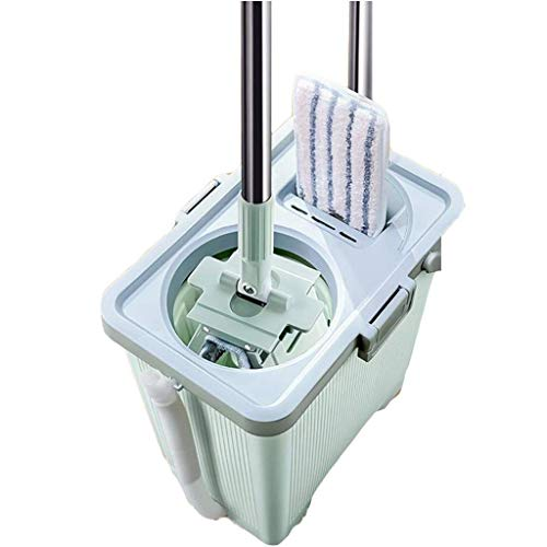 Amazing Deal Magic Mop,Magic Spin Mop Easy Self Wringing Dust Mops Mop with 3 Squeegee Mop Pads