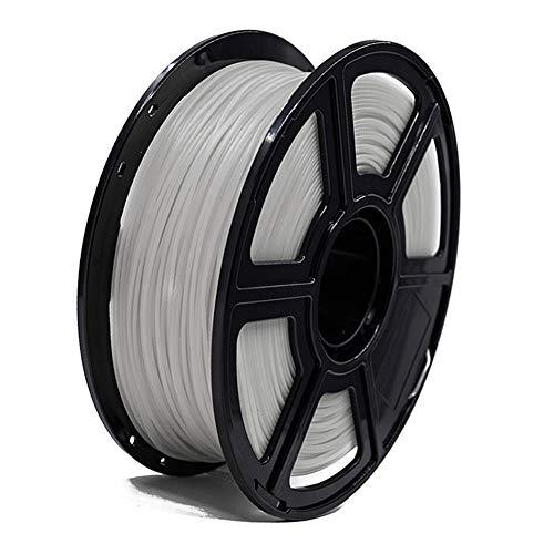 Filamento de impresora 3d, filamento luminoso PLA de 1,75 mm, 1 kg para impresora 3d, múltiples opciones de color-rojo
