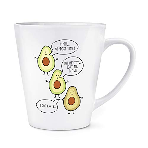 Aguacate Eat Me Now Too FINALES 12ozL Latte Taza