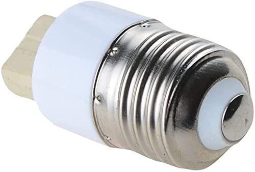 XJYDS DIRIGIÓ Bulbo de reemplazo DIRIGIÓ Adaptador de Tornillo convertidor de Bulbo de la Bombilla E27 a G9 para Sala de Estar, Garaje, Corredor (tamaño: 10pcs) (Size : 100pcs)