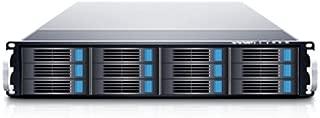 Sans Digital EliteSTOR - 2U 12 Bay 12G SAS/SATA to SAS JBOD with 12G SAS Expander Rackmount (ES212X12)