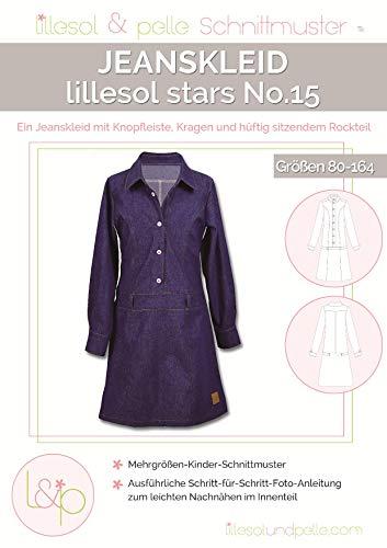 Lillesol & Pelle Schnittmuster stars No15 Jeanskleid Papierschnittmuster